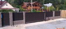 RANeX_забор-центр_каменный забор из блока_забор-ранчо_ворота-ранчо откатные_калитка-ранчо_2
