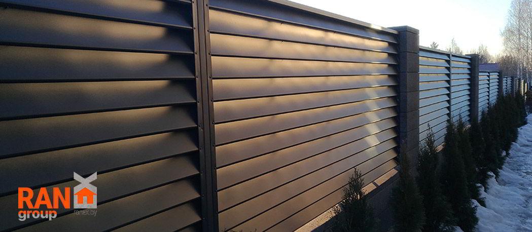 RANeX горизонтальный забор жалюзи Танго А-коллекция 10