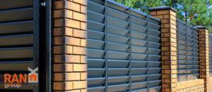 RANeX красивый горизонтальный забор жалюзи
