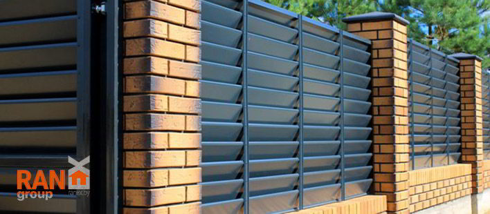 RANeX горизонтальный забор жалюзи Танго А-коллекция 2