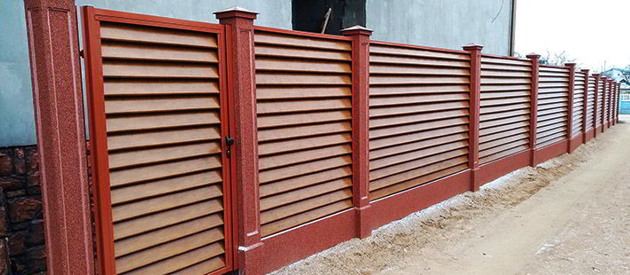 RANeX горизонтальный забор жалюзи Танго А-коллекция 6