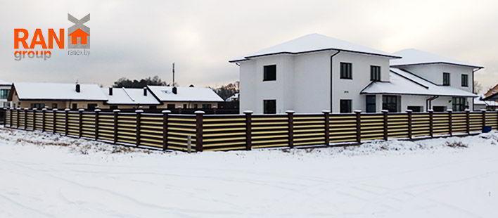 RANeX горизонтальный забор жалюзи Танго А-коллекция 7