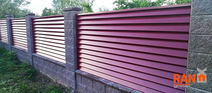 RANeX горизонтальный забор жалюзи Танго А-коллекция 9