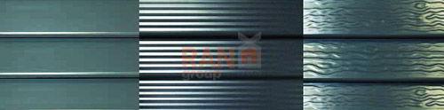 Забор Жалюзи виды поверхностей ламелей